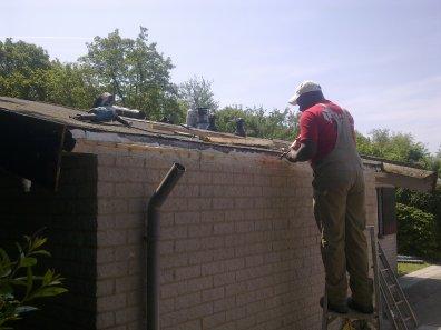 Onderhoudswerk dak en dakranden